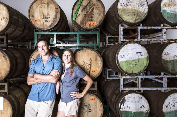 Andy and Alicia Barr opened FiftyFifty in 2007 and excitedly celebrate the brewery's 10 year anniversary with a community block party this weekend.