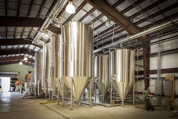The FiftyFifty Brewing Co. production facility is located on River Park Place.