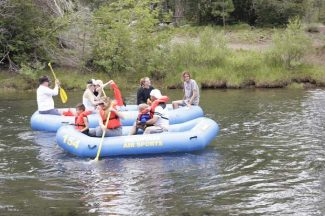 Lack of water temporarily grounds Tahoe City rafting companies