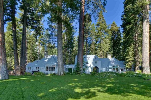 The Carousel Estate in Tahoe City is on the market for $29.5 million