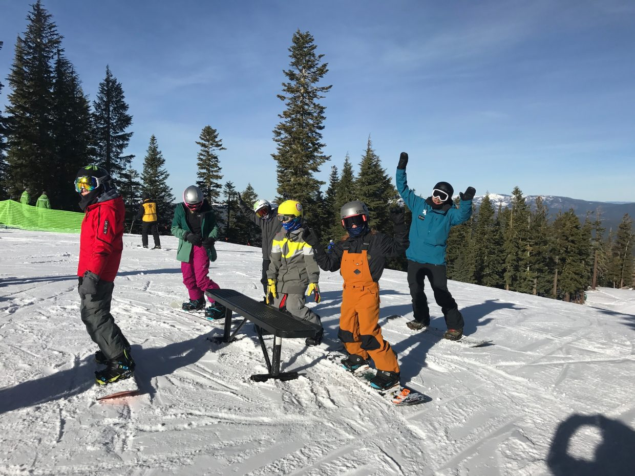 truckee, tahoe ski resorts receive several inches of snow overnight