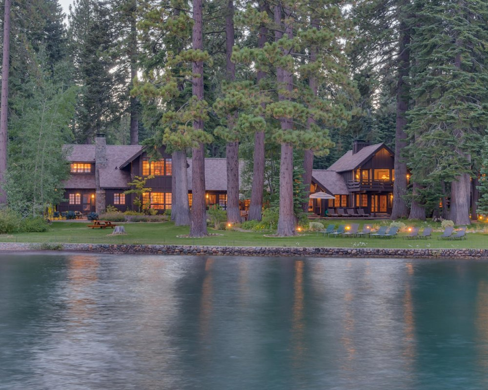 The Brushwood Estate on Lake Tahoe's West Shore is on the market for $45 million.