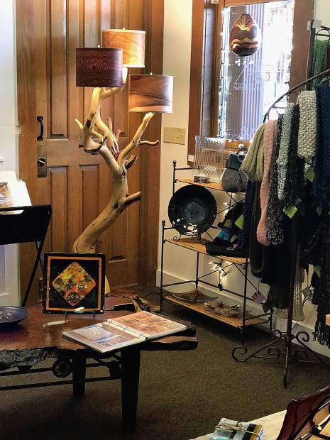 Mountain Arts Collective features beautiful home furnishings, wearable art, jewelry, body products and more - all locally made.