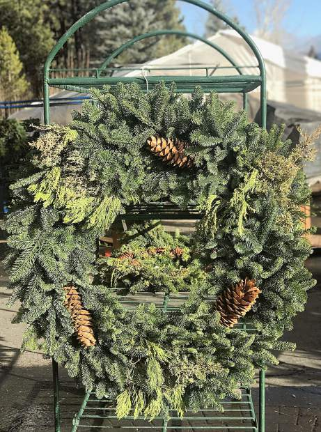 Villager Nursery has stunning large wreaths as well as all of the natural resources you'd need to make one yourself.