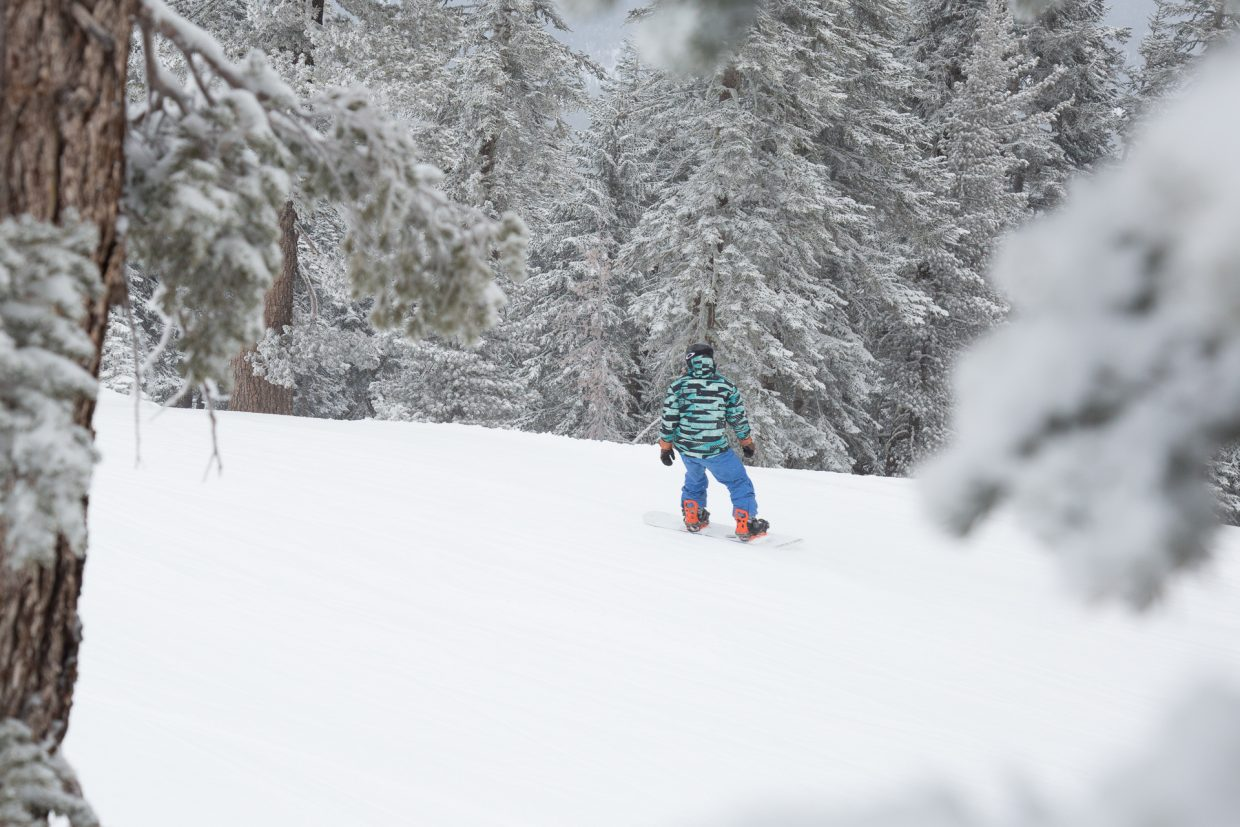 northstar, squaw receive 5 inches of snow from storm; boreal gets 8