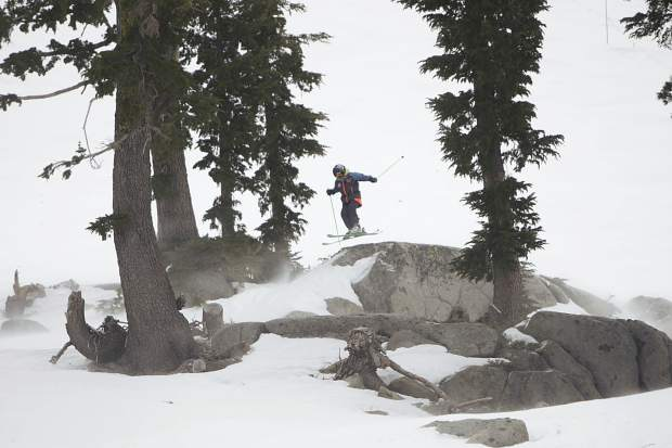 The Tahoe Junior Freeride Series held its first event last weekend at Squaw Valley Alpine Meadows.
