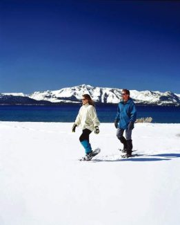 Snowshoeing around Lake Tahoe offers a wide range of experiences