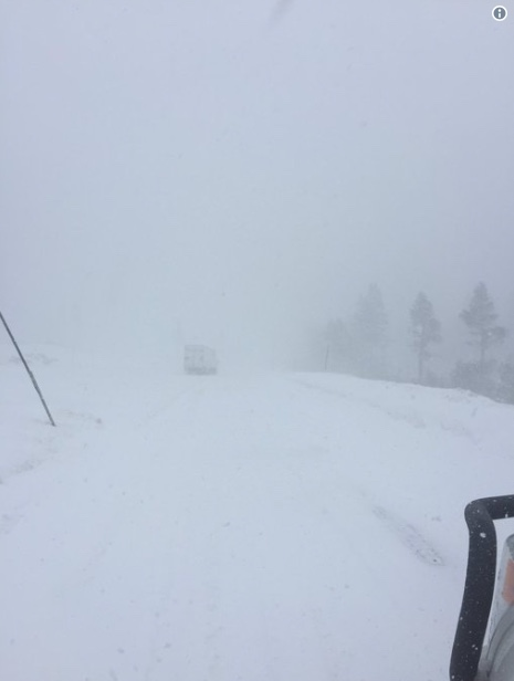 nterstate 80 has been closed between Colfax and the state line of Nevada because of weather conditions and zero visibility.