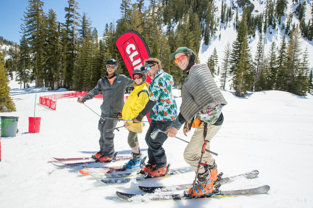 Alpine Meadow's 35th annual Snow Golf Tournament was held on Sunday, April 22.