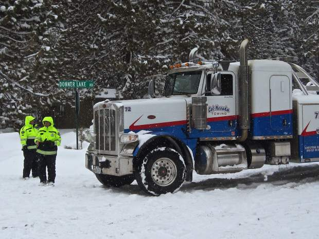 Some volunteers joined to help the police during snow storms, downed power lines, accidents, and so on.