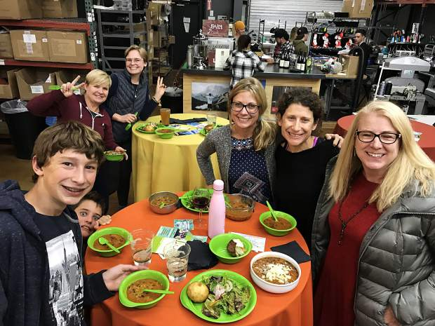 Slow Food Lake Tahoe and Tahoe Food Hub hosted their final Community Soup Night for the year on Tuesday bringing in under 200 people to enjoy a meal together.