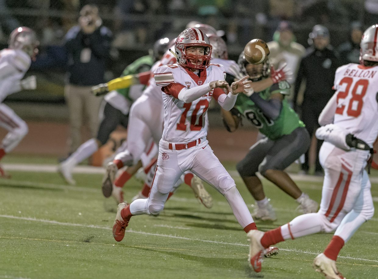 Truckee faces Churchill County in the Class 3A state championship at Carson High School on Saturday, Nov. 17.