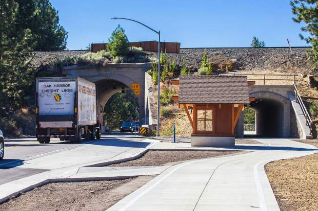 Truckee receives Caltrans award for Mousehole project | SierraSun com