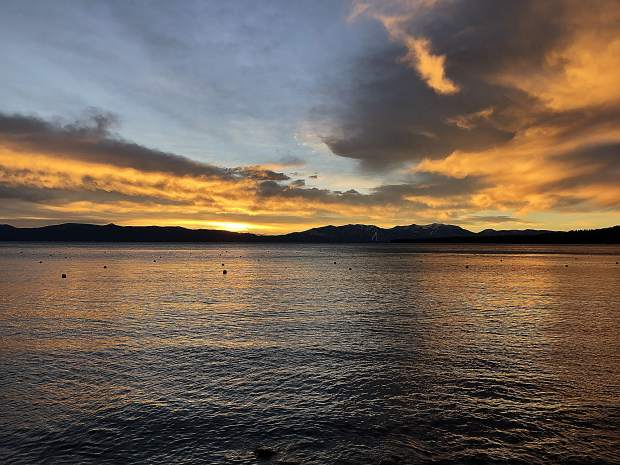 Another beautiful morning in Tahoe.