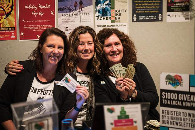 Tahoe Truckee Community Foundation hosts the Give Back Tahoe Giving Season to showcase the region's outstanding nonprofits to raise awareness and funds for their missions.