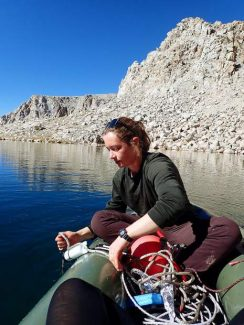 Study shows Sierra's small alpine lake temperatures depend on snowpack