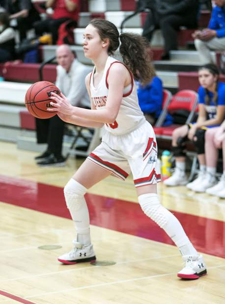 Elena Friedman hit six 3-pointers against South Tahoe on Friday.