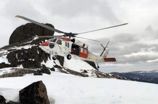 Tahoe Nordic Search and Rescue Team treks into backcountry for lost snowboarder (VIDEO)