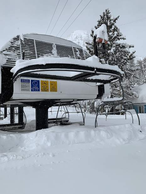 SKi resorts in North Lake Tahoe received multiple feet over the weekend with more snow in the forcast in the next week.