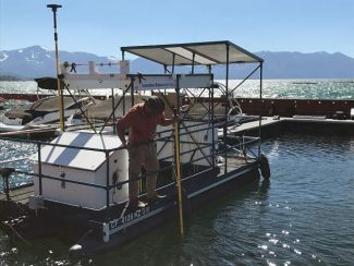 High-tech fight on aquatic invasive plants in Lake Tahoe shows promising results