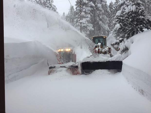 Elements Mountain Company getting it done in Tahoe Donner.