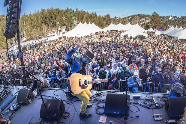 More than 20 bands will perform at WinterWonderGrass at Squaw Valley this year including Greensky Bluegrass, Trampled by Turtles and Leftover Salmon.