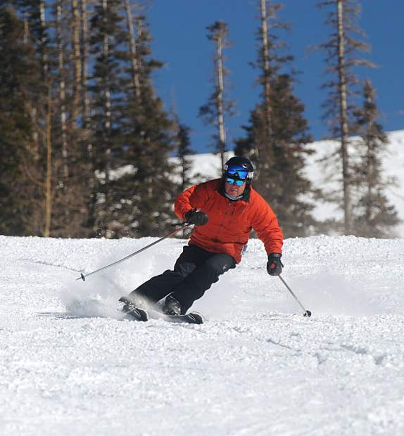 Black Hills Winery President Glenn Fawcett took a break, a Skibbbatical, this winter and skied the top resorts in Colorado including this sunny February day in Telluride.