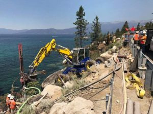 Construction of Lake Tahoe shared-use path to resume