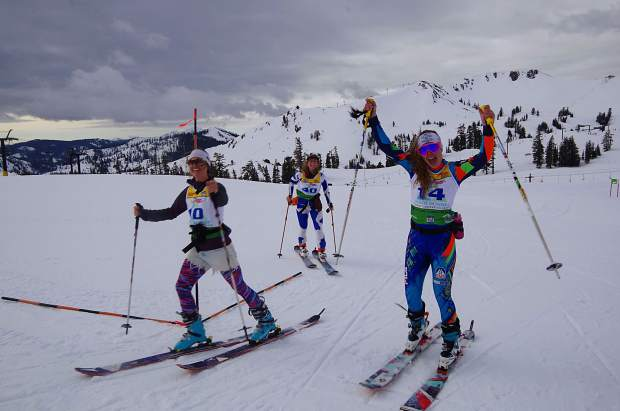 Billy Dutton Uphill at Squaw Valley raises $1,800 for junior ski programs