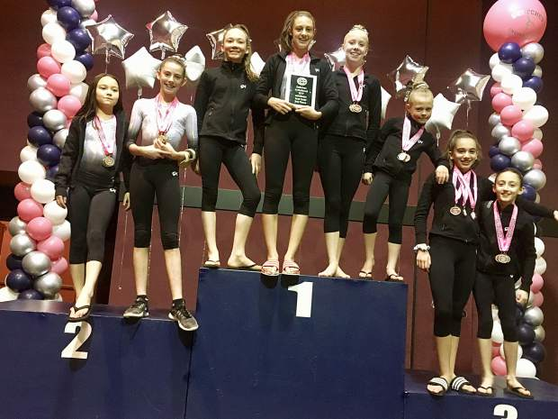 Truckee qualified 21 gymnasts to the regional championships this May in San Diego.