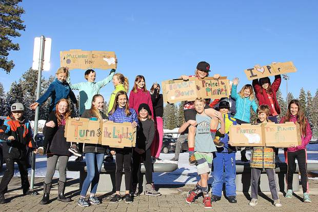 With support from SWEP, the Eco-Action & Envirolution Clubs at North Tahoe School & North Tahoe High School hosted their first