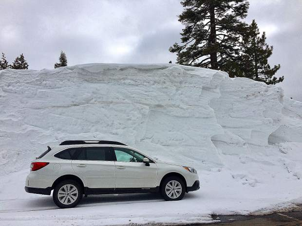 Big snow on Donner Summit.