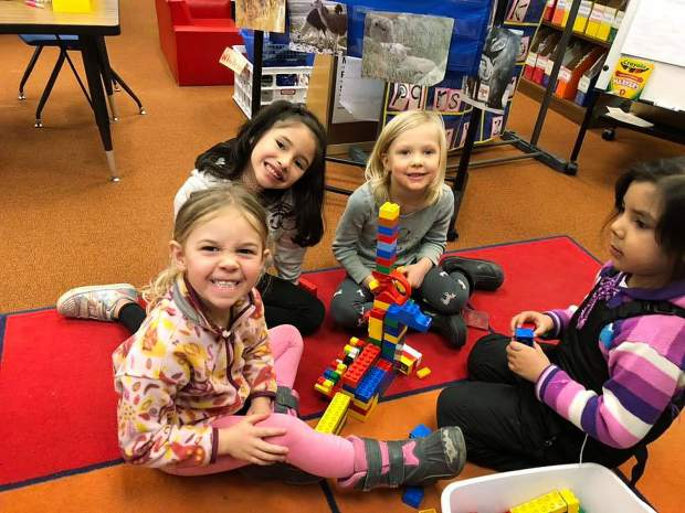 Transitional Kinders (TKs) at Tahoe Lake Elementary love to build! Soon they will be engineering and building chicken coops in TK and Kinder.
