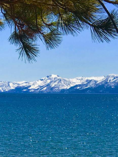 Tahoe Blue Earth day.
