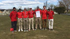 High School golfers win pair of league tourneys