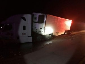 I-80 traffic halted by second accident involving semi-trucks in two days