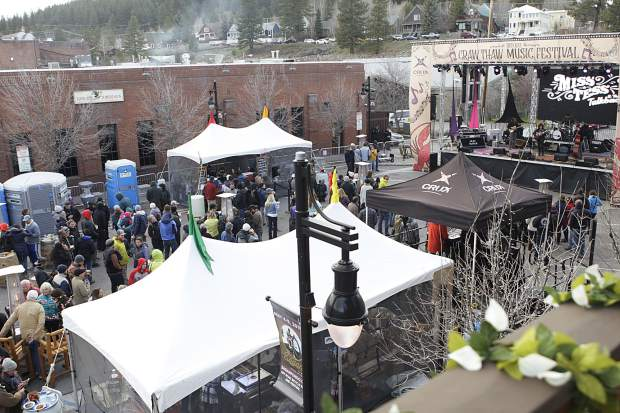 This years organizers of the event moved the festival later in the month for better weather and a greater turnout.