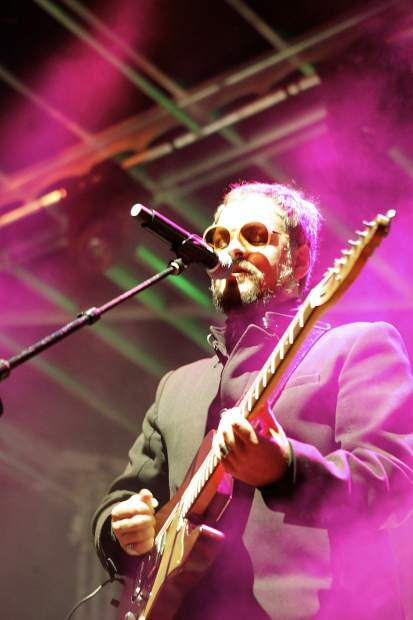 """Otis McDonald tore into a jazzy version of The Beatles """"A Day in the Life"""" during the band's roughly one-hour set."""