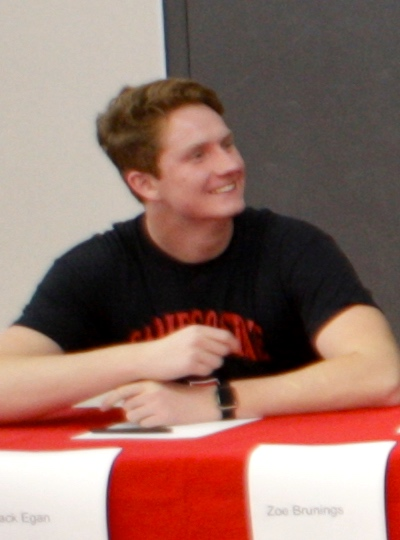 Jack Egan signed to play lacrosse at San Diego State University.