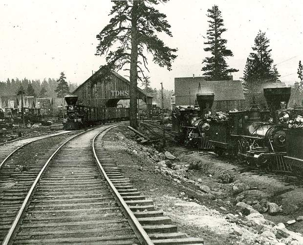 The railroad brought both freight and travelers to Truckee. The train helped create our local lumber and ice industries. Writers and artists came to capture the beauty of the area. The railroad led the way for the first transcontinental highway system, telephone line, pipeline and postal air route.