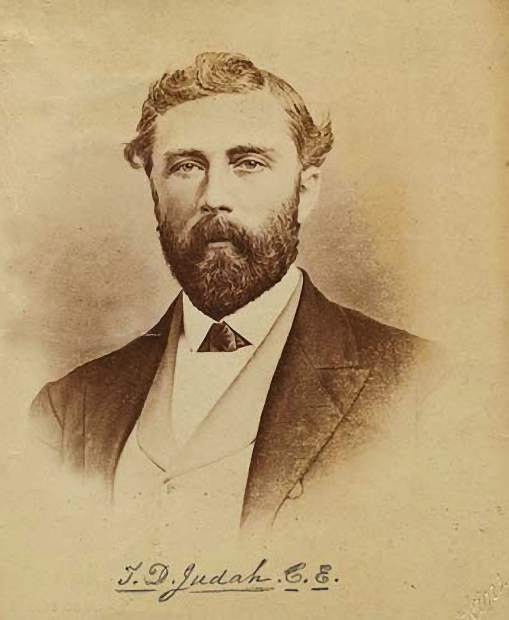 Theodore Judah, for whom Mt. Judah on Donner Summit is named, had come to California to work on one railroad but his dream was the Transcontinental Railroad.