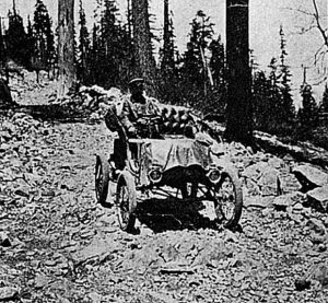 First automobile over the Sierra stopped short of transcontinental trip