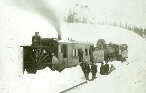 150 years of railroad snow removal in the Sierra