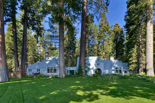 The Carousel Estate in Tahoe City is was recently purchased by Facebook CEO Mark Zuckerberg.