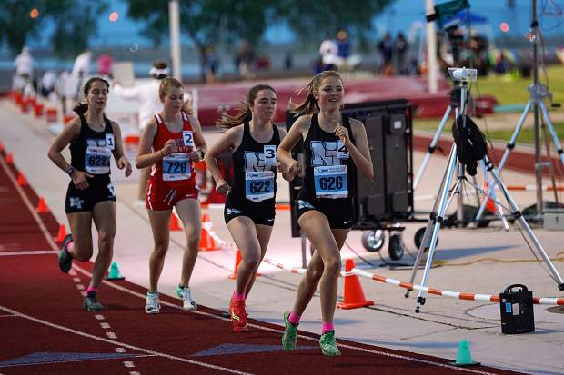 North Tahoe's Hurt, Johnson win trio of golds at state meet