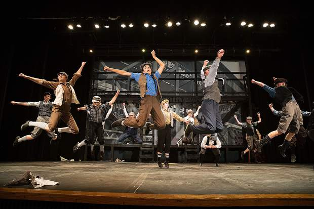 "Truckee High School's ""Newsies the Musical"" continues this weekend May 10 and 11, with matinee show on May 12."
