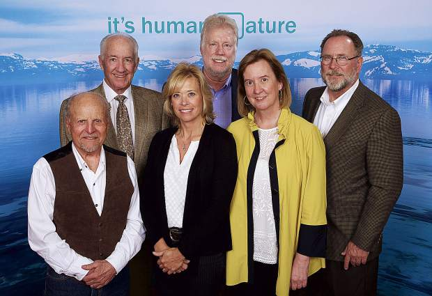Tahoe Forest Health System officials, whose CFO Crystal Betts, was recognized for her exemplary public service efforts with the Outstanding Public Servant award.