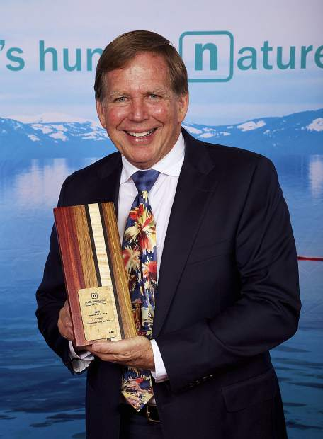 For 32 years, Gar Woods Grill & Pier has a been a staple of North Lake Tahoe for locals and visitors alike. Owner Tom Turner accepted the award for Business of the Year at the 65th annual Community Awards (See story page A9).