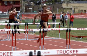 Track athletes close out regular season