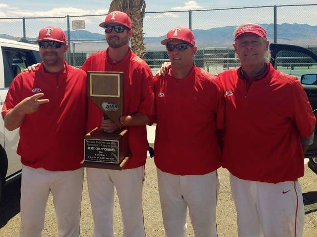 Truckee's basbeball coaches went 30-4 with the team this season.